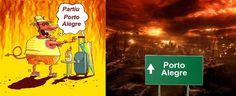 Diário de um Gaúcho Grosso: PORTO ALEGRE NO VERÃO - VERÃO GAÚCHO