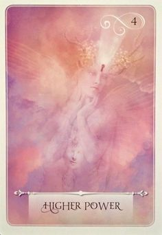 Higher Power, from the Wisdom Of The Oracle card deck, by Colette Baron-Reid