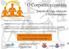 """# Noticiário de Hoje #: JUAZEIRO: """"CORPOÉTICA: ESTUDOS INTERDISCIPLINARES ..."""