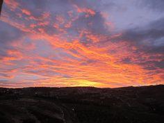 Evening Sky at Tkoa, Judaean Desert