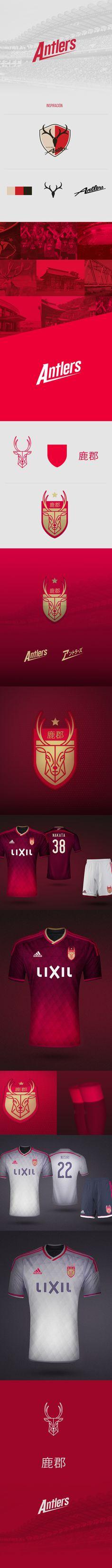 J-League · Kashima Antlers on Behance