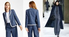 Max Mara lança uma inovadora linha de denim 100% lã para o Outono / Inverno 17 - Stylo Urbano #moda #sustentabilidade