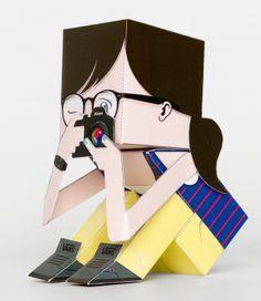 Andreatoy!! papertoy personalizado como regalo de pascua!!! #papertoy, #toy, #diy, #handmade, #photography, #fotografa