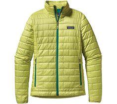 Patagonia Nano Puff Jacket 84216 - Arbor Green - FREE Shipping & Exchanges | Shoebuy.com