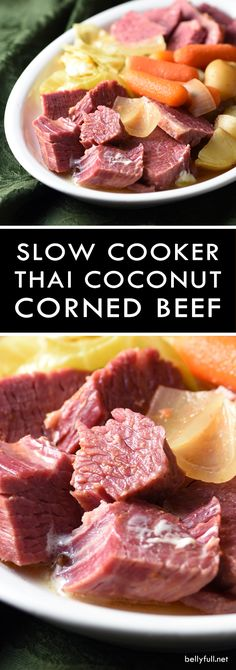 Slow Cooker Thai Coc