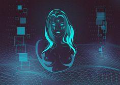 Cyber Girl on Behance