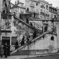 Ginjinha do Carmo nos anos Lisboa Antique Photos, Old Photos, Capital City, Vintage Images, Portuguese, Past, Black And White, Places, Trips