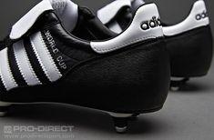 separation shoes ced38 6b412 adidas World Cup SG - BlackWhite