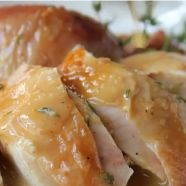 So easy to make, so delicious to taste, his Majesty - Crispy Roasted Chicken with Lemon sauce