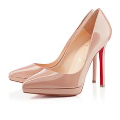 pigalle plato 120mm nude patent leather