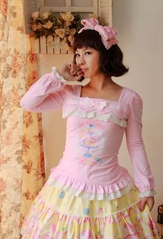 Infanta Candy Time Printed Lace Lolita Dress