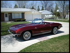 1963 Chevrolet Corvette Convertible 327/340 HP, 4-Speed