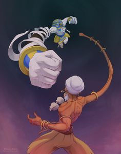Dhalsim VS Anakaris My entry for Udon Entertainment's Street Fighter vs Darkstalkers comic series that's gonna be happening. Black Characters, Video Game Characters, Fantasy Characters, Fantasy Character Design, Character Art, Cartoon Expression, Video Game Art, Video Games, Shadow Art