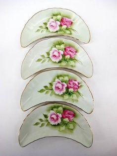 Four Lefton China Bone Dishes