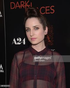 Zoe Lister Jones attends the premiere of 'Dark Places' at Harmony Gold Theatre on July 21, 2015 in Los Angeles, California.