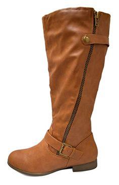 5220a84d742 Charles Albert Women s Side Zipper Accent Knee High Riding Boots   gt  gt  gt