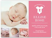 Girl Birth Announcements & Baby Birth Announcement Cards | Shutterfly
