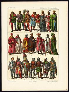 FRANCE-COSTUME-14TH CENTURY