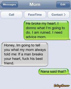 So Nana was a skank....LOL