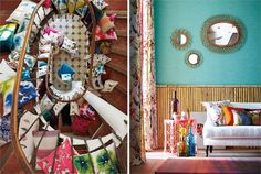 Style Library is the official home of Harlequin, with it's bold fabrics and stunning wallpapers, vivid in colour and electric designs, find out how we can transform your home. Harlequin Fabrics, Harlequin Wallpaper, Fabric Wallpaper, Walnut Table, Textiles, Tropical Design, Tapestry Weaving, Design Consultant, Store Design