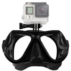 Camera Mount Diving Mask Oceanic Scuba Snorkel Swimming Goggles Glasses For GoPro Action Camera Scuba Diving Mask, Dive Mask, Snorkel Mask, Best Scuba Diving, Snorkel Gear, Scuba Gear, Sports Nautiques, Water Sports, Snorkeling
