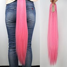 Miss U Hair My Little Pony Rainbow Dash/Twilight Sparkle/Fluttershy Cosplay Hair Long Straight Claw Ponytail for Kids and Adult (Pink), http://www.amazon.com/dp/B010LLSESM/ref=cm_sw_r_pi_awdm_sD0zxbAV8QCV6