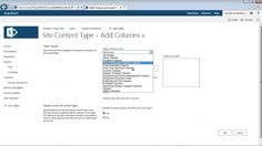 SharePoint 2013 Build Content Types Demo
