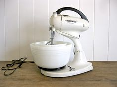 Just bought a vintage stainless mixer similar to this one for 20 bucks :)