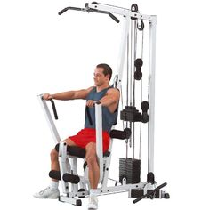 Best Home Gyms Comparison 2015   CrowdBest.com • Body Solid EXM1500S Single Stack Home Gym