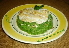 Filet de hoki ( ou de sole ) sur nid de brocoli