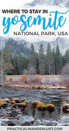 Yosemite National Park is one of the most beautiful destinations in the United States, especially in the winter. But which Yosemite National Park lodging is the best? Here is our pick for where to stay in Yosemite! Yosemite National Park Winter   Yosemite
