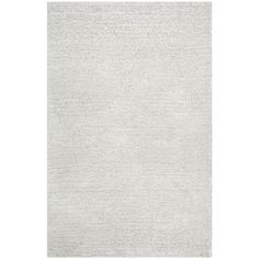 Safavieh Hand-Tufted Ultimate Shag Silver/ Ivory Polyester Rug (5' x 8') - 18573732 - Overstock.com Shopping - Great Deals on Safavieh 5x8 - 6x9 Rugs