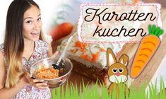 Gesunder Kuchen - Backen zu Ostern - Snack selber machen - Karottenkuche...