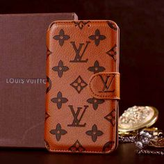 Louis Vuitton Samsung Galaxy Note 3 Case Wallet Monogram Brown