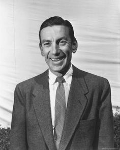 Hoagy Carmichael, songwriter, singer and actor.  He wrote Stardust and Up a Lazy River, among other great songs