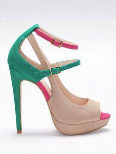 [Mary Jane Platform Pump - VS Collection - Victoria's Secret]- this is beautiful! Pump Shoes, Shoe Boots, Shoes Heels, High Heels, Stilettos, Crazy Shoes, Me Too Shoes, Boys Shoes, Look Fashion