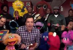 Jimmy Fallon, Sesame Street and The Roots!