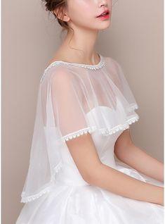 Get the biggest range of super stylish Wedding Dress Wholesale Distributors at JJsHouse. Wedding Fabric, Tulle Wedding, Wedding Party Dresses, Bridal Dresses, Flower Girl Dresses, Bridal Cape, Wedding Wraps, Event Dresses, Lace Weddings