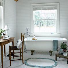 Bathroom After - Georgia Cottage Home Makeover - Coastal Living