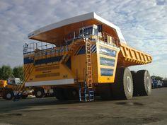 Новый 450-тонник из Жодино: БелАЗ-75710.
