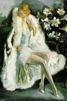 Kees van Dongen - Portrait of Lili Damita, the Actress (1925)