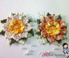 colcha de croche com flores com graficos - Pesquisa Google