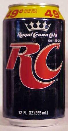 Crown Bottle, Drinks Logo, Rc Cola, Beer Labels, Crown Royal, Tins, Soda, Food And Drink, Advertising