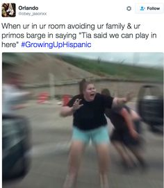 Dealing with little primos: | 31 Tweets About Growing Up Hispanic That Will Make You Laugh Every Time