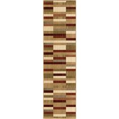 "Pintin Multi-Colored Runner Rug, 2'3"" x 8'"