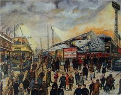 Football Special - Bramall Lane - Sheffield United | Terry Gorman | Art Gallery And Picture Framers