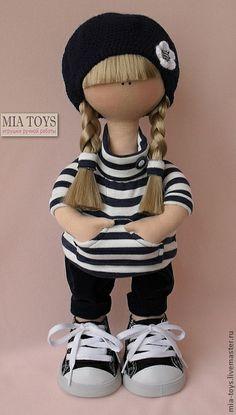 Коллекционные куклы ручной работы. Ярмарка Мастеров - ручная работа Кукла Юля. Handmade.