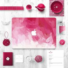 KEC Painting Matte Macbook Case in various color for Macbook Air & Pro 15 inch. Protect your Macbook with artistic Macbook plastic hard shell cover.