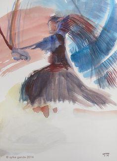 Haidong Gumdo Watercolor
