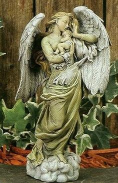Guardian Angel with Child by VoyageVisuel